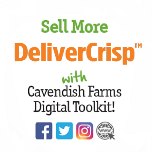 Get your DeliverCrisp™ Social Media Toolkit Now!