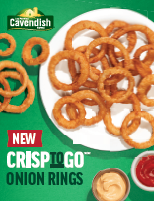 CrisptoGo™/MC Onion Ring Sell Sheet