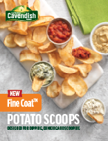 Fine Coat Potato Scoops Sell Sheet