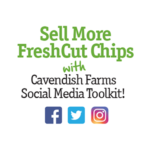 Get your FreshCut Chips Social Media Toolkit Now!
